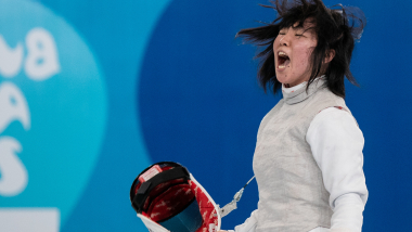 Japan's first YOG gold medallist talks about her Tokyo 2020 dream