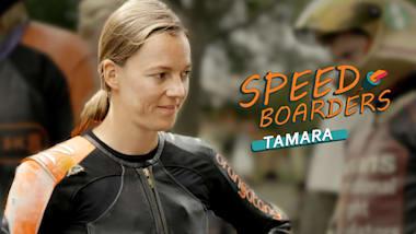 Tamara Prader – Skatista no Downhill