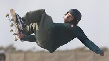 国際スケートボードオープン初日:平野歩夢が男子パーク予選通過で準々決勝へ