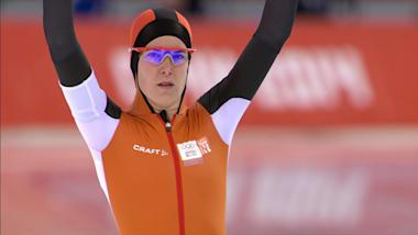 伊瑞恩·伍斯特 (荷兰), 女子3000米金牌 | 速滑 - 2014年索契冬奥会回看
