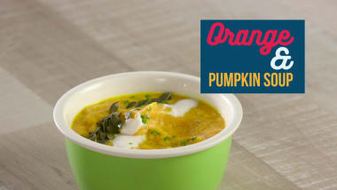 Orange & Pumpkin soup