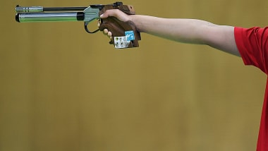 Women's Air Pistol Final   Shooting - Summer Universiade - Napoli