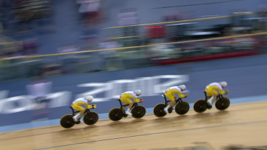 Replay: Rohan Dennis and Australia win track pursuit silver at London 2012