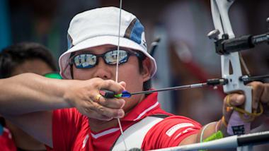 アーチェリー東京五輪テストイベント3日目:ロンドン銀メダリストの古川はベスト16で敗退
