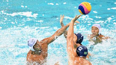 Men's QF 1 - SRB v ESP   Water Polo - FINA World Championships - Gwangju