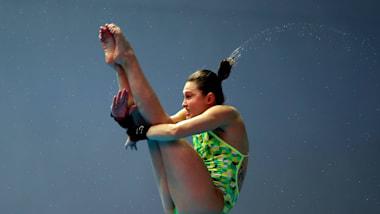 女子10米台决赛   跳水 - FINA 世锦赛 - 光州