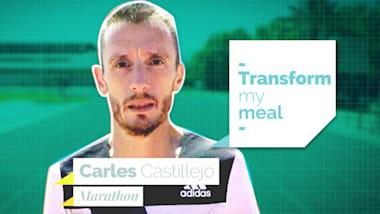 Carles Castillejo am Herd mit Köchen aus Barcelona