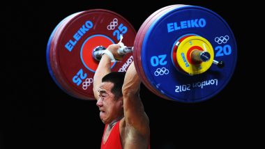 World record weightlifters