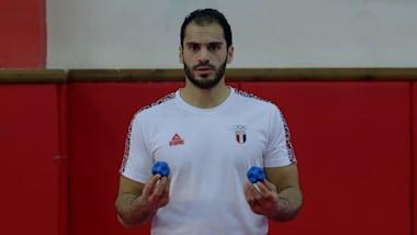 Handball tips: Karim Hindawi speed and reflex workout