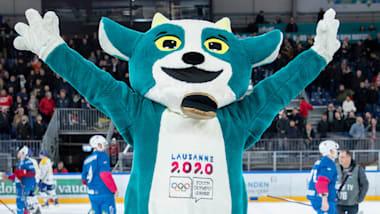Lernen Sie Yodli kennen, das Maskottchen für Lausanne 2020