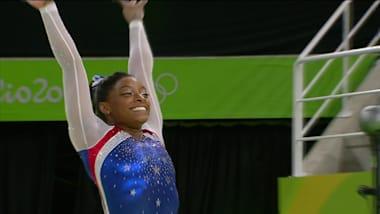 Simone Biles: das Rio 2016 Einzelmehrkampf-Finale