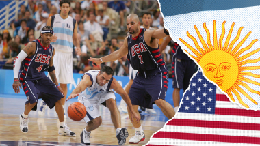 Argentina vs USA, Semifinal | Athens 2004 Replays