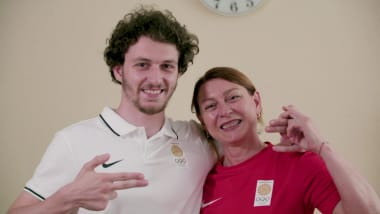 Meet the mother and son winning medals at the European Games and eying more history in Tokyo