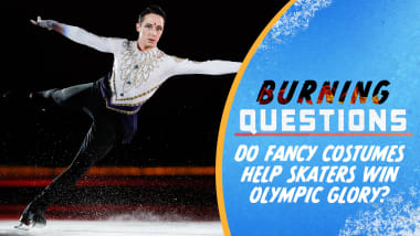 Do fancy costumes help skaters win Olympic glory?
