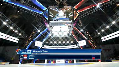 2019 우시 WT 월드컵 팀 챔피언십 여자 단체 결승