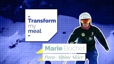 Marie Bochet am Herd mit Koch Jérôme Labrousse