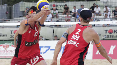 Anders Mol and Christian Sorum pass Tokyo 2020 beach volleyball test with flying colours