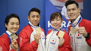 空手アジア選手権:日本勢がメダル量産! 形の喜友名諒、清水希容、組手は男子67kg級・篠原浩人、同75kg級・西村拳らが優勝