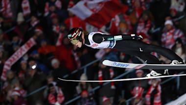 スキージャンプW杯、男子団体第2戦で日本は5位…優勝はドイツでオーストリアが僅差の2位