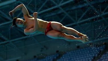 男子3米板半决赛   跳水 - FINA 世锦赛 - 光州
