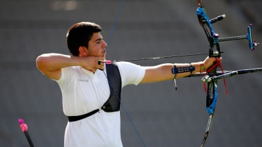 Олимпийский лук, команды, медальные матчи | Чемпионат мира - Хертогенбос