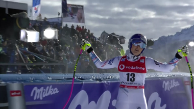 Lindsey Vonn finishes 15th in return from injury