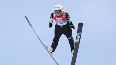 スキージャンプW杯、女子個人第23戦チャイコフスキー大会で高梨沙羅が3位表彰台