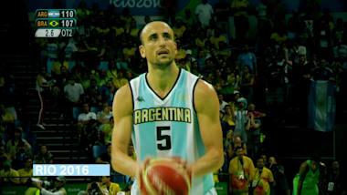 Manu Ginobili - Argentinian Olympic legend