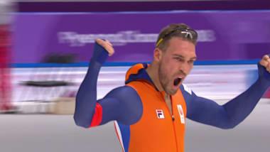 남자 1500m - 스피드 스케이팅 | 평창 2018 하이라이트