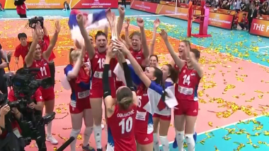 La Serbie retrouve les sommets et le titre mondial
