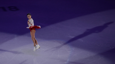 The jumps, spins and turns of figure skating