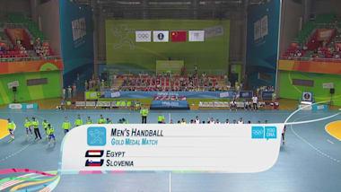 EGY v SLO - Men's Handball | 2014 YOG Nanjing