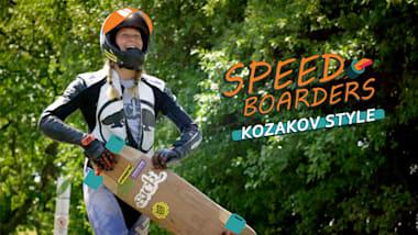 Le style Kozakov - Longboard de Descente