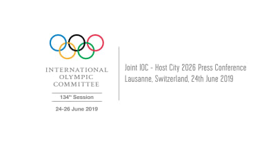 Joint IOC - Candidate City 2026 Press Conference