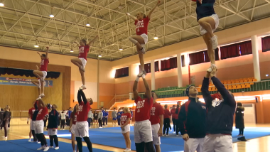 Meet the USA cheerleaders entertaining crowds and athletes in PyeongChang