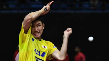 【卓球】アジア選手権2日目:男子団体はインド、女子団体をタイ下して準決勝へ