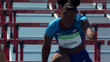 100m-Hürden-Siegerin bei den OJS: Früher war ich Turnerin