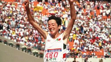 Mota vence a maratona em Seul 1988