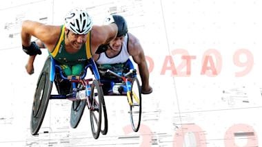 竞速轮椅助力残疾选手达到40公里时速