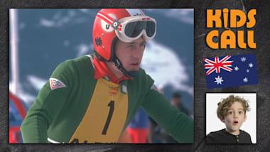 Kids Call: Franz Klammer esquiador de downhill em Innsbruck, 1976