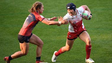 女子セブンズラグビー北九州大会、日本は3連敗でグループ最下位
