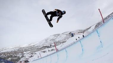 スノーボード世界選手権:ハーフパイプで戸塚優斗が予選首位で決勝へ