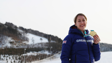 Skeleton champ Yarnold feels