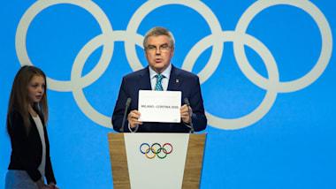 2026年冬季五輪はミラノとコルティナダンペッツォで開催。決定の瞬間会場はイタリアコール
