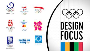 Design Focus: logos de los Juegos Olímpicos