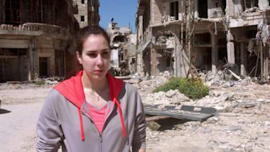 La única nadadora olímpica siria inspira a una nueva generación