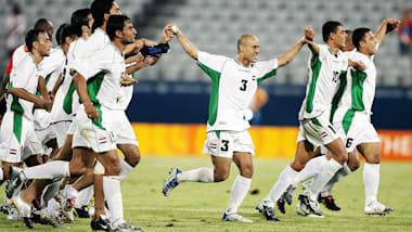 Calcio: l'Iraq batte il Portogallo ad Atene 2004