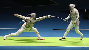 フェンシングGPソウル大会、男子サーブルはオ・サンウクが金...日本勢は予選落ち