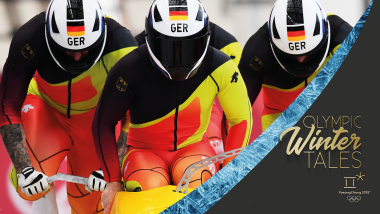 Jump in for an all-access Bobsleigh ride