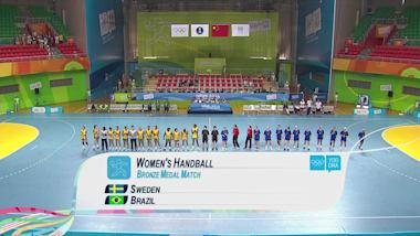 SWE v BRA - Women's Handball | 2014 YOG Nanjing